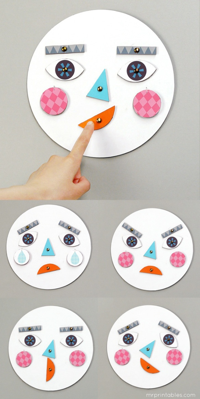com fer una cara per jugar a les emocions 4